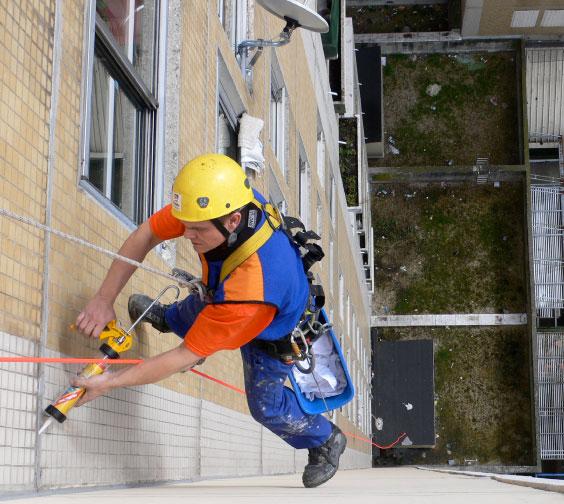 Abside recherche de fuite sur toit terrasse for Traitement des fissures en facade